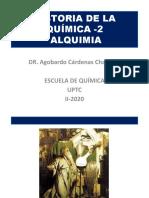 HISTORIA DE LA QUÍMICA -2