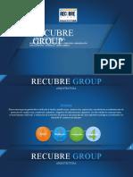 Presentanción Recubre Group Construcción