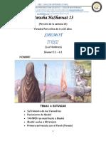13.PARASHA 13 SHEMOT
