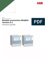 1MRK505386-BEN - En Product Guide Breaker Protection REQ650 Version 2.2