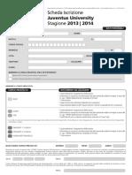 Iscrizione University 2013-2014