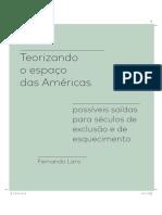 Lara Revista America 2018 Teorizando o Espacod as Americas