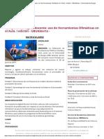 Competencia digital docente_ uso de Herramientas Ofimáticas en el Aula. I edición - UBUAbierta - _ Universidad de Burgos