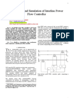 Modelling and Simulation of Interline Power Flow Controller