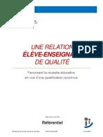 Referentiel Relation Elève-Enseignant Avril2014