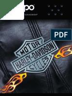 2004 Harley Davidson Zippo Catalog