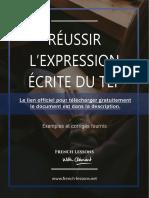 Réussir l'Expression Écrite Du TEF