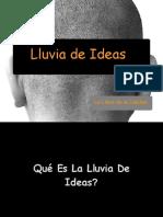 Lluvia de Ideas 2021 10