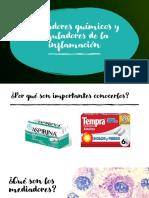 5. Mediadores químicos y reguladores de la inflamación