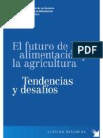 El Futuro de Los Alimentos y Agricultura, Tendencias y Cambios 2017 FAO