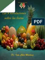 Las 9 Revelaciones Sobre Las Frutas