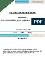 Aulinha - Poliangeite Microscopica