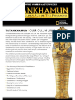Tutankhamun Masterpieces Exhibition and Schools