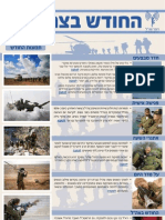 IDF Monthly - Newsletter February (Heb)