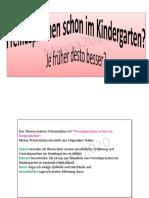 Thema B1 Fremdsprachen Schon Im Kindergarten