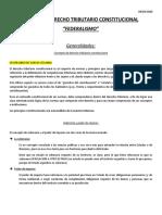 UNIDAD 9 DERECHO TRIBUTARIO CONSTITUCIONAL (FEDERALISMO)