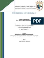 Indicaciones PPF, PPR, Coronas Completas y Endopostes