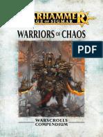Warhammer Aos Warriors of Chaos It