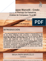 missa papae marcelo ppt