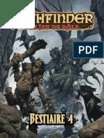 Pathfinder - Bestiaire 4