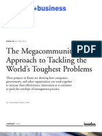 The Megacommunity Approach to Tackling the World's Toughest Problems
