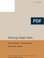 Policing Road Risk