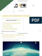 Transición Zoom En Adobe Premiere -earth Zoom-