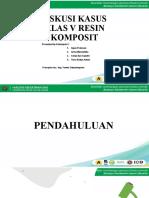 Restorasi Resin Komposit Kelas V
