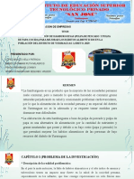 proyecto fish burger diapositivas