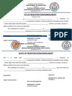 Certif Enrolment