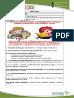 GUÍA DE REPASO 4° CUARTO SOCIALES E INGLÉS