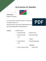 Economy of Namibia