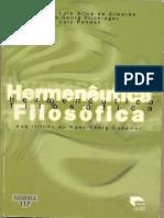 Da palavra ao conceito - hemenêutica filosófica nas trilhas de Hans-Georg Gadamer