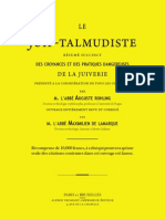 Rohling Auguste (Abbé) - Le Juif-Talmudiste