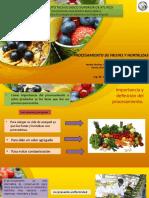 Presentación Procesamiento de Frutas y Hortalizas