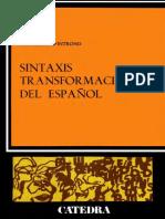 Sintaxis Transformacional Del Español. D%27Introno Francesco