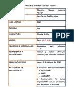 TALLER CATEDRA DE PAZ 6 PRIMER PERIODO