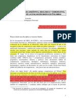 COMPETENCIAS LINGÜÍSTICA, IDEOLÓGICA Y COMUNICATIVA. Bustamante