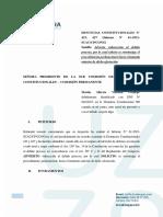 Escrito Martín Vizcarra Vizcarra Cp - 423 Juicio Político