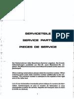 Emco Maximat Super 11 Service Parts
