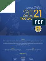 2021 Bir Tax Calendar
