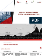 Petunjuk Pemesanan dan Penggunaan e-IPO v2