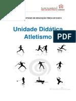 Unidade Didática de Atletismo