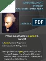 Kant Principi Dell%27intelletto Puro