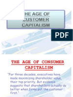 The Age of Consumer Capitalism