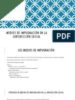 Tema 10. Medios de impugnación en la jurisdicción social