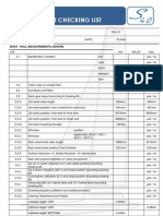 S40-OD Checking List Measurement