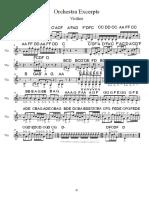 violin excerpt
