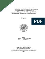 contoh laporan analisis keuangan (dupont)