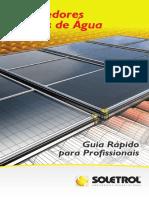 Guia - Aquecedores Solares de Água Soletrol